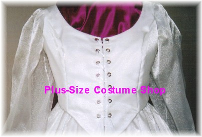 handmade plus size super size renaissance innocent modest summer satin wedding dress bridal gown satin brocade rose pattern
