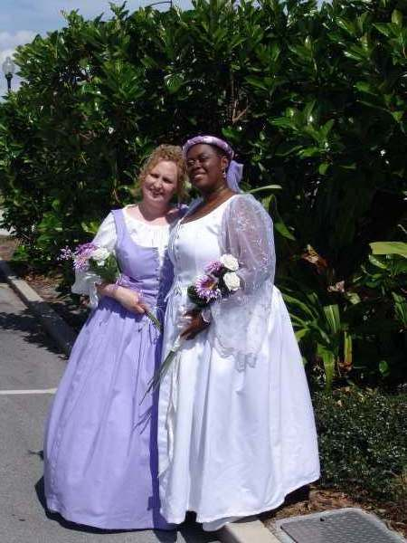 Customer photos plus size and super size costumes for Halloween wedding dresses plus size