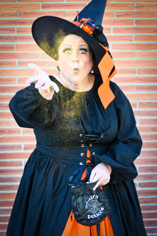 customer wearing Harvest Witch Renaissance plus size Halloween costume ...  sc 1 st  Plus Size Costume Shop & Classic Gallery | Plus size and super size costumes customer photos ...