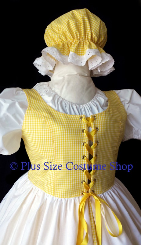 handmade plus size goldilocks halloween costume