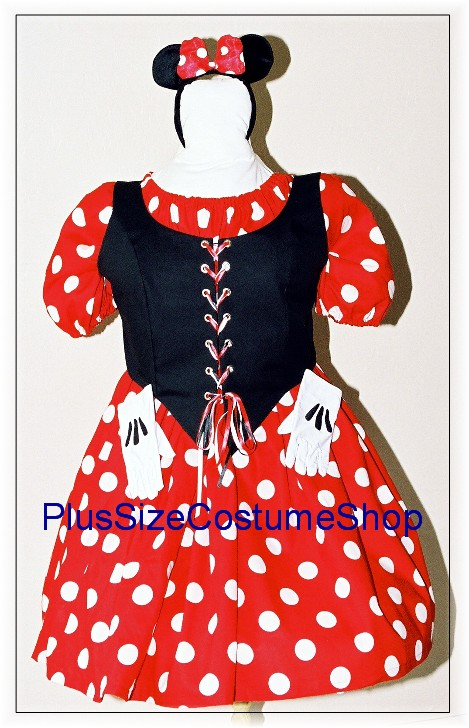Miss Mouse Halloween Costume | Plus size and super size ...
