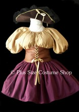 thumbnail plus size pirate sexy buccaneer halloween costume