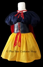 thumbnail plus size sexy snow white halloween costume great value renaissance dress gown