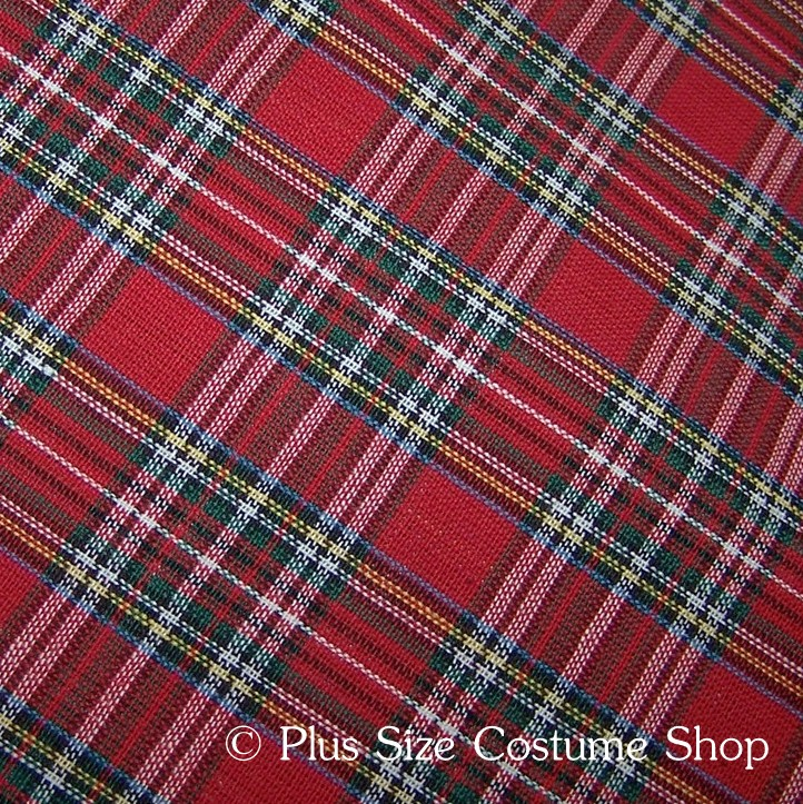 Renaissance Plaid Tartan Fabrics | Plus size and super size